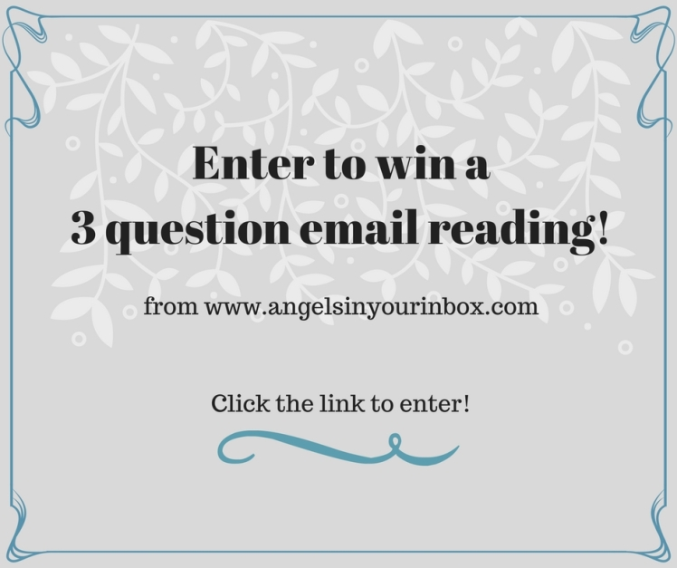 Enter to win a 3 question email reading!